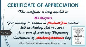 CertificationOfAppreciation_Mayuri