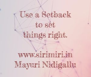 Setback-MayTivation-Sirimiri