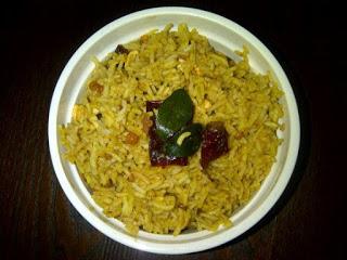 Pulihora (Tamarind Rice)