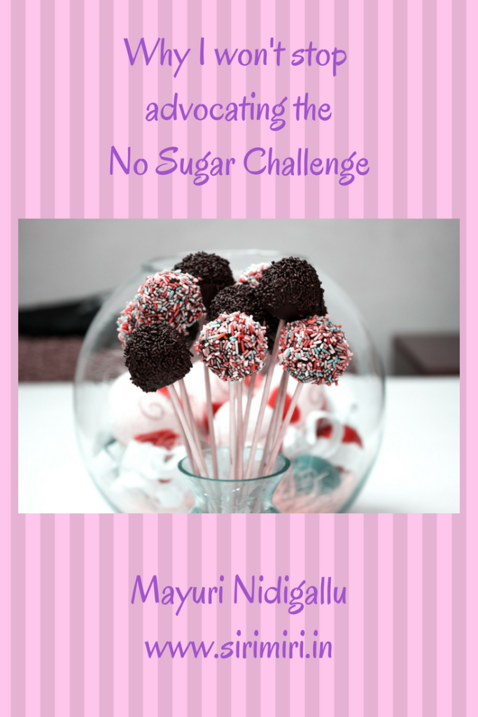 won't stop-advocating-No-Sugar-Challenge-sirimiri