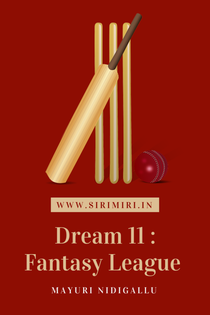Dream 11 _ Fantasy-League-Cricket-Sirimiri
