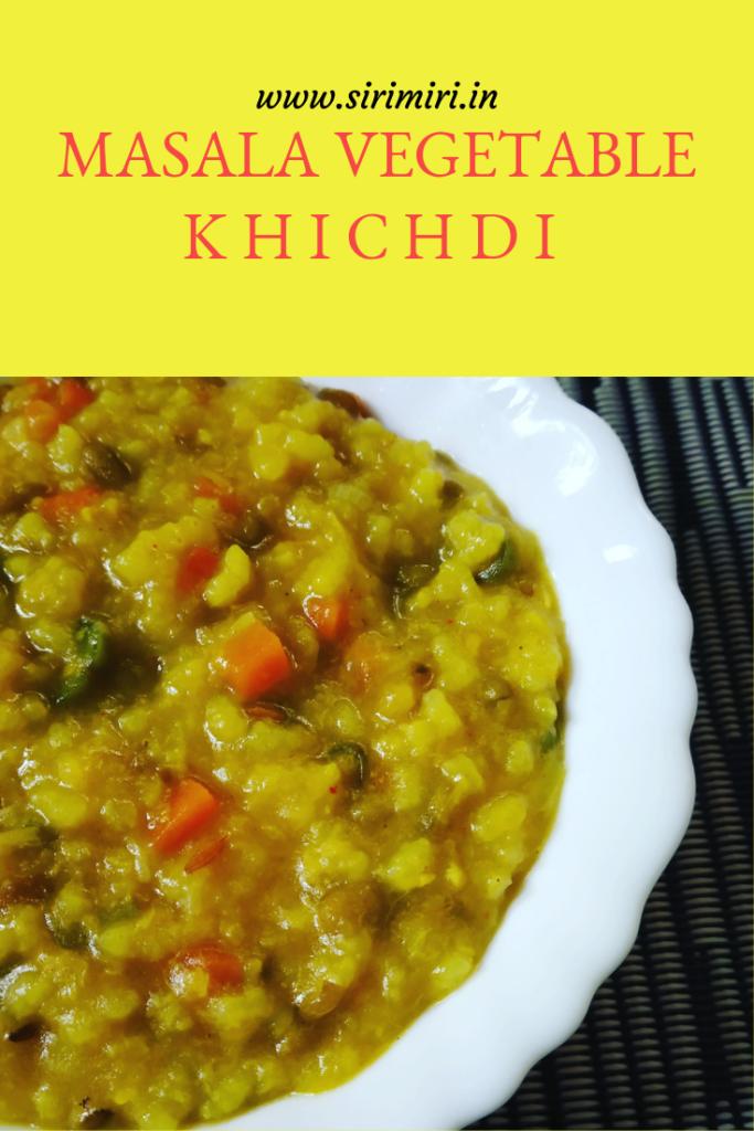 Masala-Vegetable-Khichdi-Sirimiri