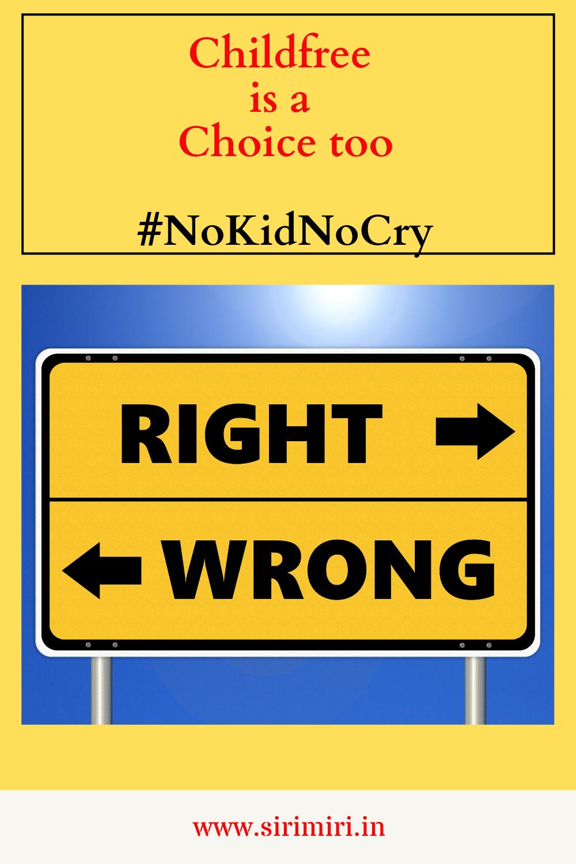 Childfree_Choice _#NoKidNoCry _Sirimiri