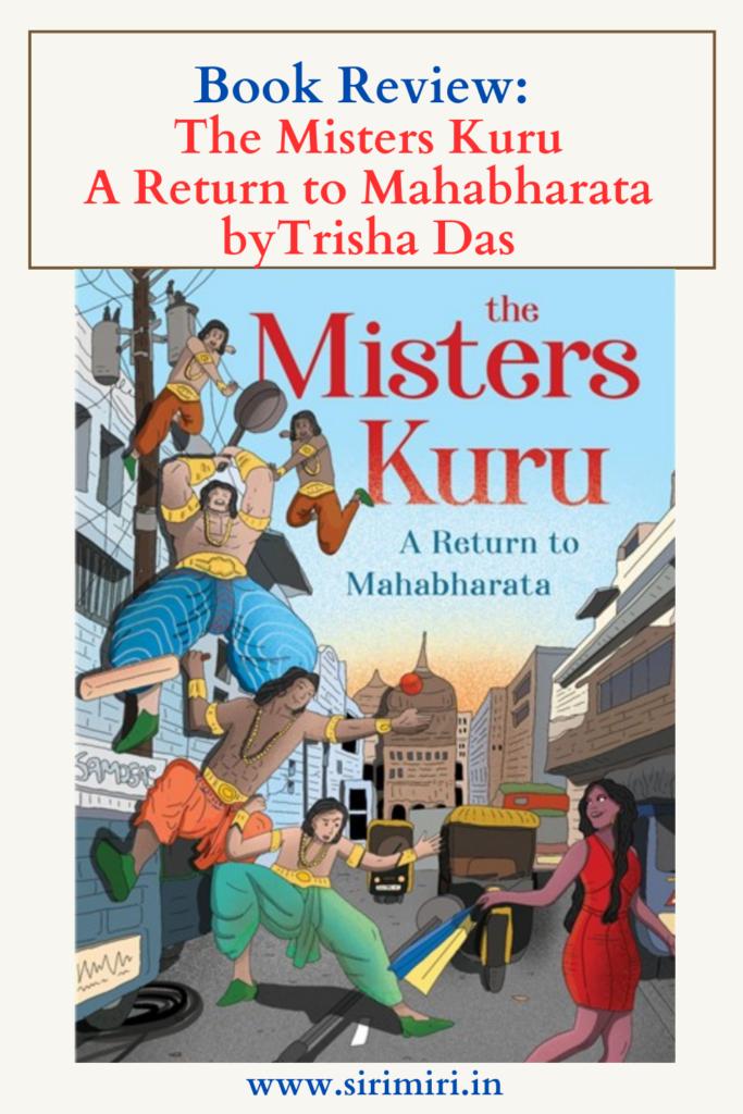 Book_review_misters-Kuru_Mahabharata_Trisha_Das_Blogchatter_Sirimiri